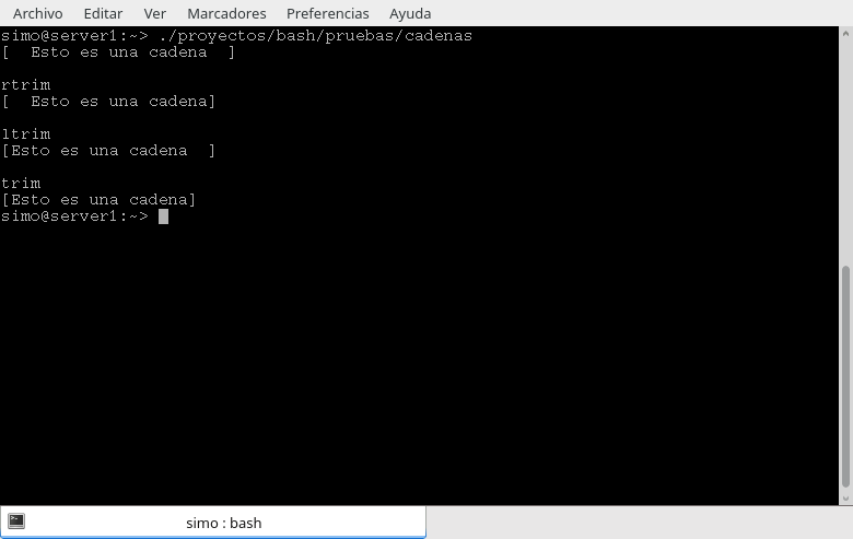 Librerias de funciones en Bash - source
