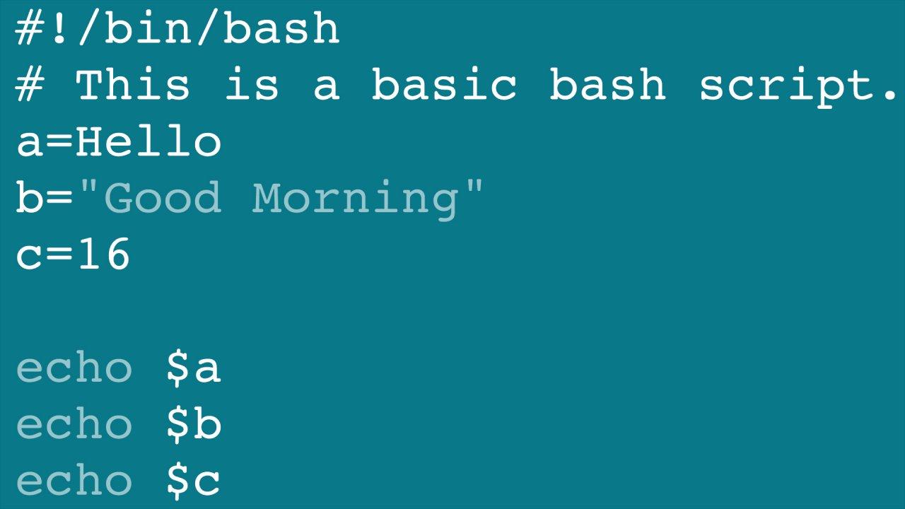 Como crear una librería de scripts en Bash